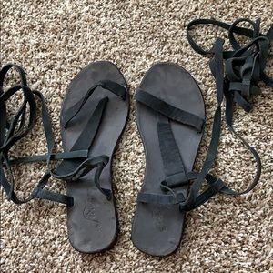 Free people tie sandal